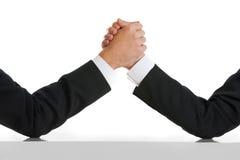 商业竞争者comptetition概念 免版税图库摄影