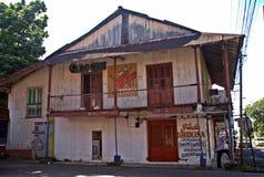 商业街v -大卫-巴拿马共和国 免版税图库摄影