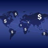商业设计世界  免版税库存图片