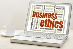 商业道德概念 库存图片