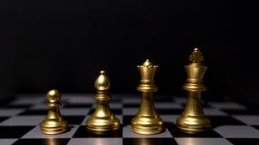 商业领袖概念 棋盘比赛 库存图片