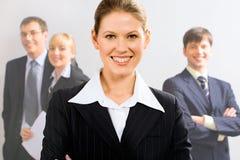 商业领袖 免版税图库摄影