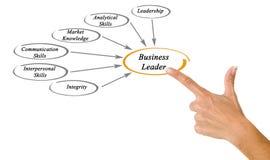 商业领袖 库存图片