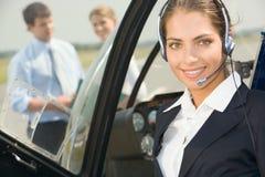 商业飞行员 免版税库存图片