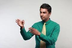 商业主管印地安人 库存图片