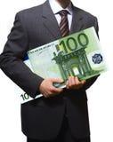 商业eur 免版税库存图片