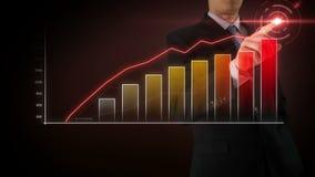 商人互动触摸屏 股票视频