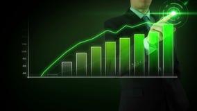 商人互动触摸屏 股票录像