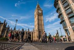 商人在伦敦 免版税库存图片