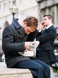 商人在伦敦 免版税库存照片