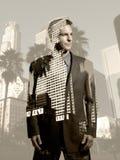 商人在洛杉矶 免版税库存图片