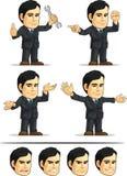 商人或办公室行政定制的Masco 免版税图库摄影