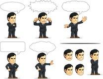 商人或办公室行政定制的Masco 库存照片