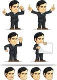 商人或办公室行政定制的Masco 图库摄影