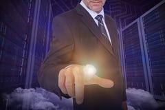 商人指向的综合图象 免版税库存图片