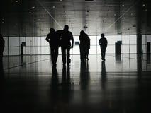 商人步行者 图库摄影