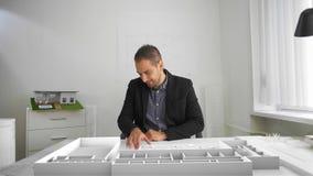 商人看建筑学射出与被增添的和混杂的现实 影视素材