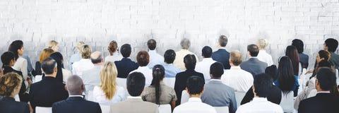 商人研讨会会议会议公司概念 免版税库存照片