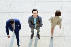 商人身分在办公室 免版税库存图片