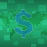 商务世界 图库摄影