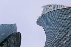 商务中心国际莫斯科 免版税库存图片
