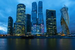 商务中心国际莫斯科 免版税图库摄影
