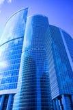 商务中心城市莫斯科新的摩天大楼 库存照片