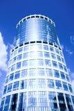 商务中心城市莫斯科新的摩天大楼 免版税库存图片