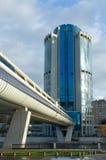 商务中心城市莫斯科 免版税图库摄影