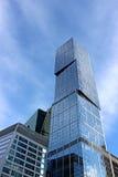 商务中心大厦在莫斯科 免版税库存照片