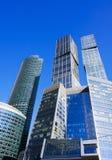 商务中心摩天大楼 免版税库存图片