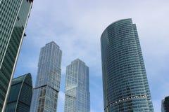 商务中心莫斯科城市 免版税图库摄影