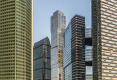 商务中心莫斯科城市 免版税库存照片