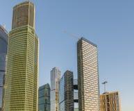 商务中心莫斯科城市 免版税库存图片
