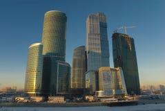 商务中心莫斯科 库存图片