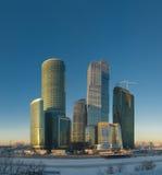 商务中心莫斯科 免版税库存照片