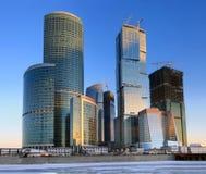 商务中心莫斯科 免版税库存图片