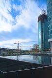 商务中心莫斯科 免版税图库摄影