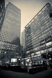 商务中心黑白照片 免版税图库摄影