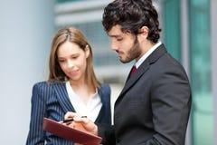 商务伙伴 免版税库存图片