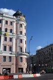商务和商业中心画廊演员 M一个前公寓  S 并且Lagunovoi 图库摄影