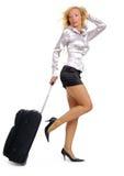 商务旅游妇女 免版税图库摄影