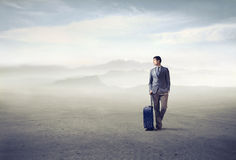 商务旅游 免版税库存图片