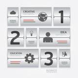 商务旅游infographic机场时间表设计样式。 免版税库存照片