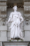 商务,寓言的表示法,城镇厅,格拉茨细节雕象  库存照片