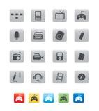 商务cube03图标 库存图片