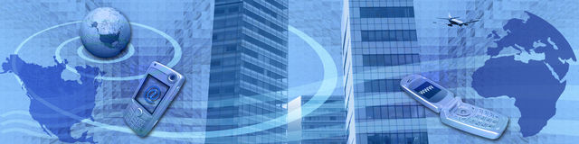 商务e技术 免版税图库摄影