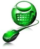 商务e界面 免版税库存照片