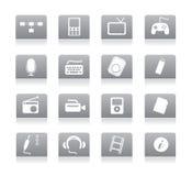 商务gray03图标 免版税图库摄影