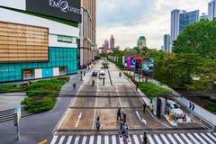 商场购物中心入口和其他大厦 库存照片